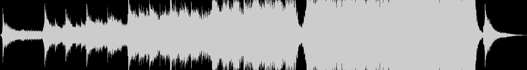 ギターエピックスペースサウンドトラックの未再生の波形