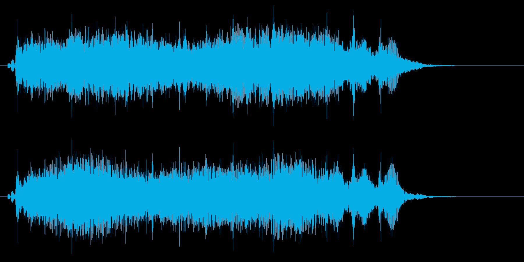 アイドルSE1 ゲームクリアの再生済みの波形