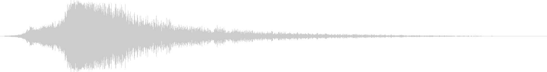 シャキーン♪クリア,達成,回復に最適7cの未再生の波形