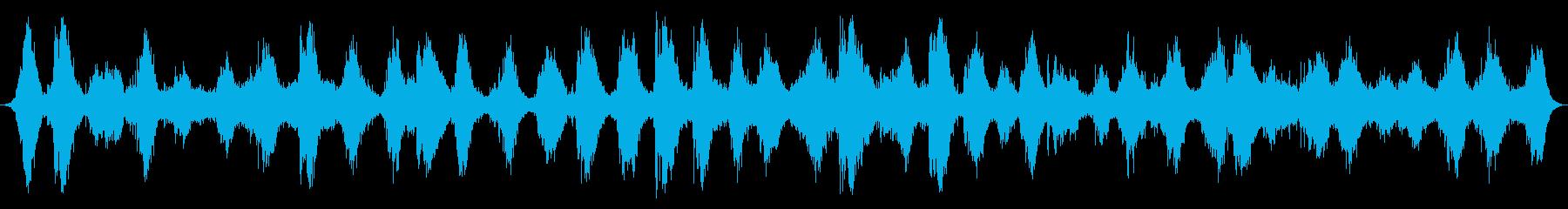 海洋:重い波と速い波の再生済みの波形