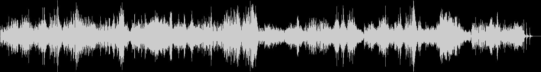ドビュッシー ベルガマスク組曲 パスピエの未再生の波形