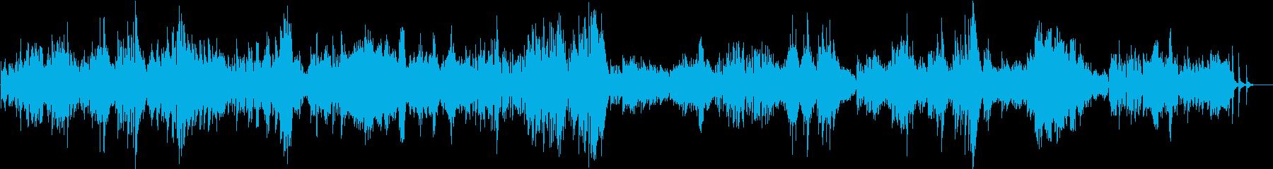 ドビュッシー ベルガマスク組曲 パスピエの再生済みの波形