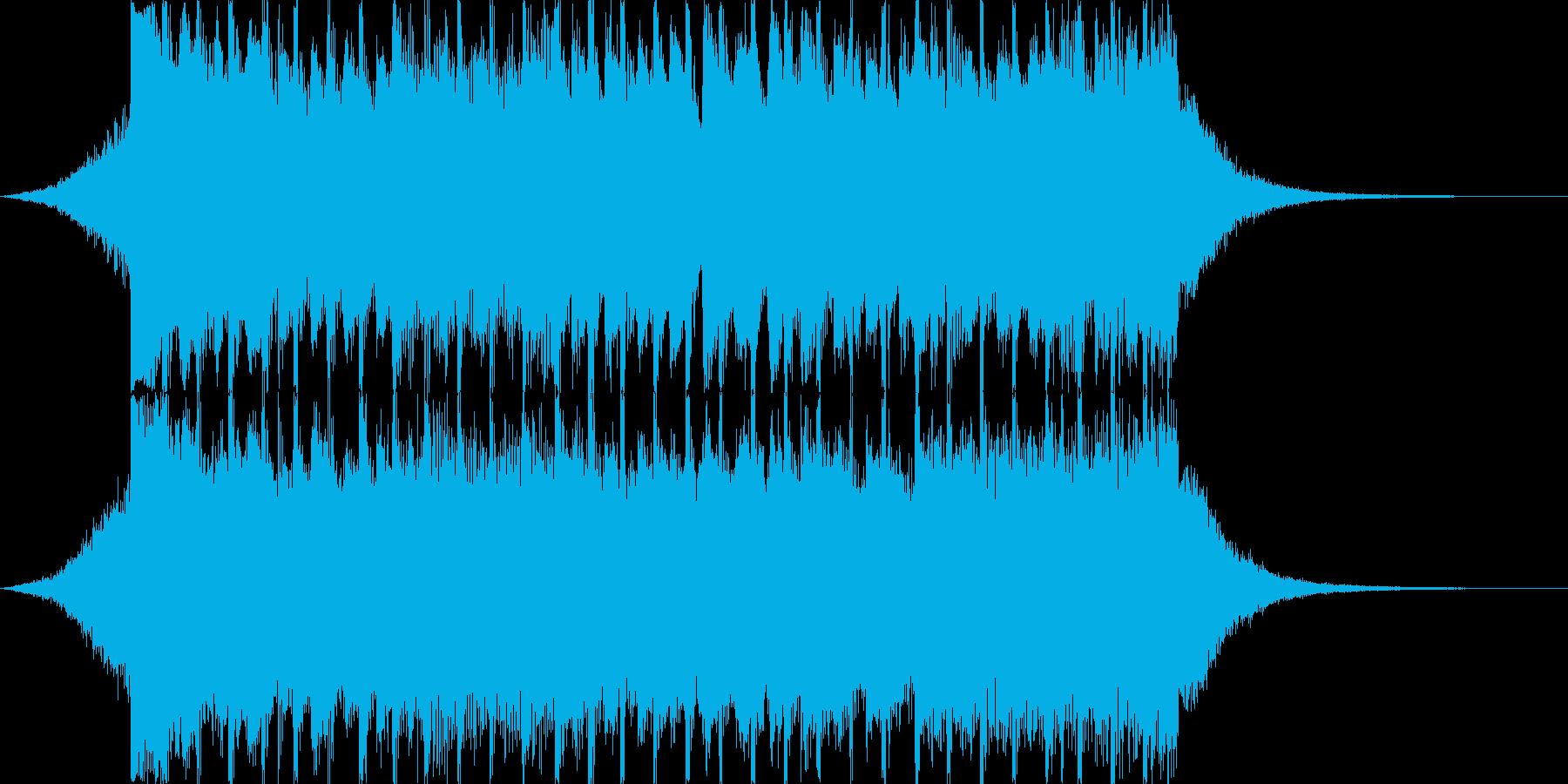 企業VP向け、爽やかポップ4つ打ち16cの再生済みの波形