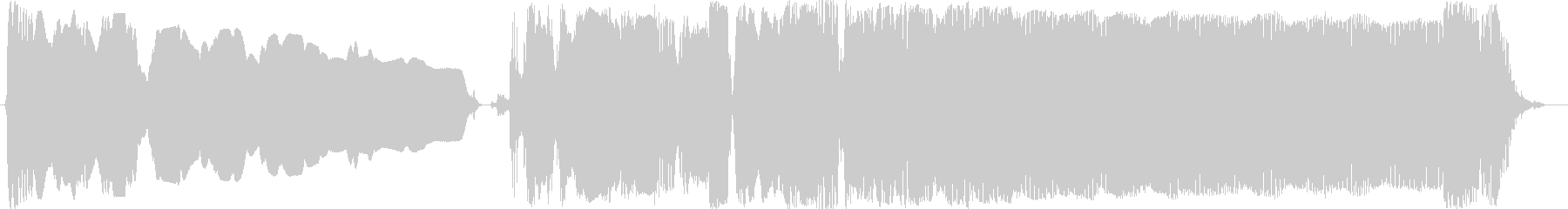 ブルースフレーズを用いたジングル用3の未再生の波形