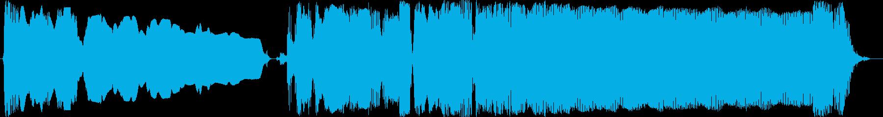 ブルースフレーズを用いたジングル用3の再生済みの波形