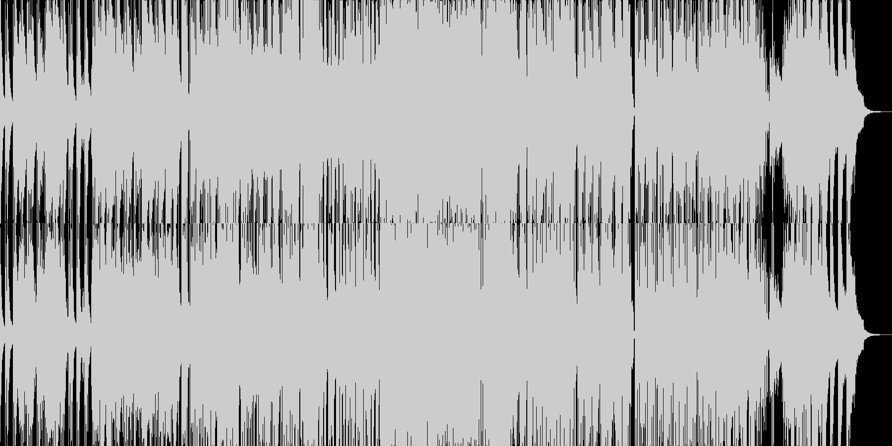 落ち着いたジャジーなサウンドの未再生の波形