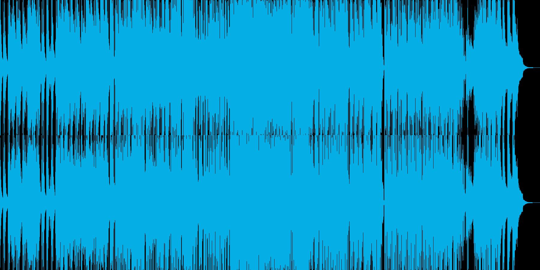 落ち着いたジャジーなサウンドの再生済みの波形