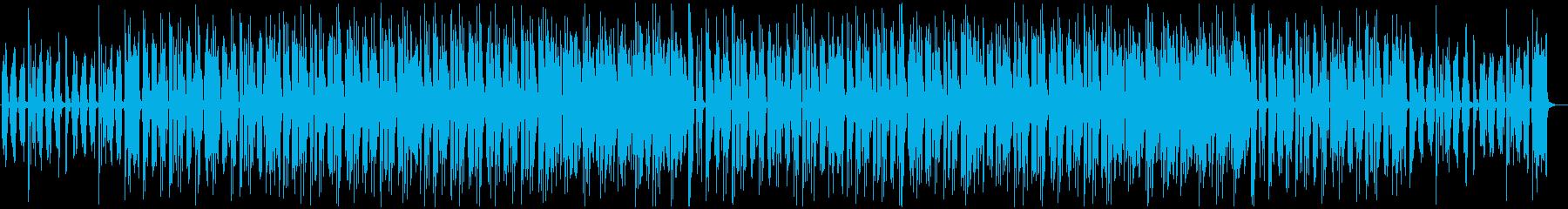 都会的で軽快なエレキギターのチルホップの再生済みの波形