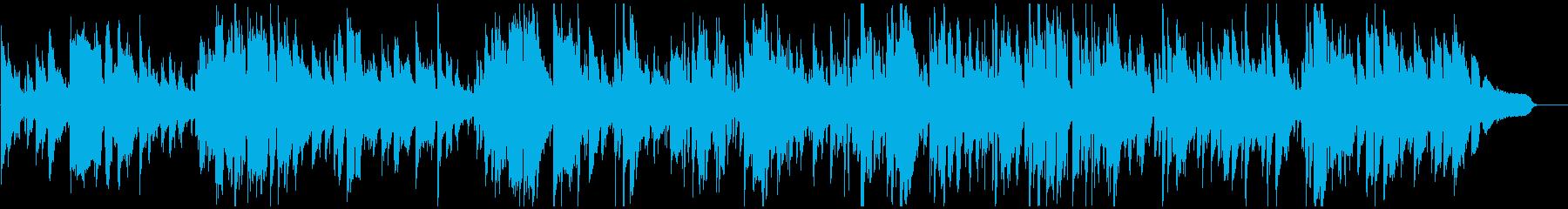 スマートで神秘的なクール系ゆったりジャズの再生済みの波形