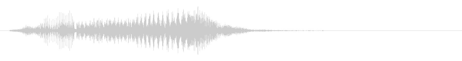 ボーカルエフェクト-「varroom」の未再生の波形