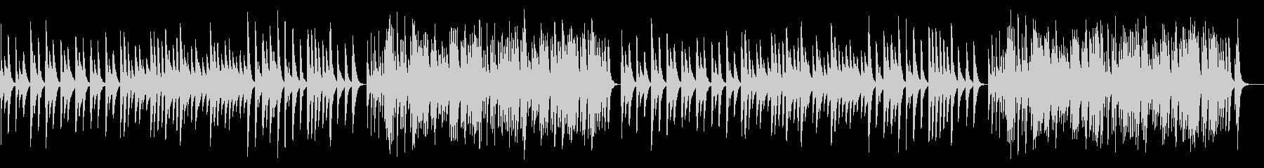 カノン 18弁オルゴールの未再生の波形