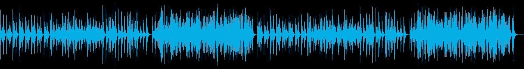 カノン 18弁オルゴールの再生済みの波形