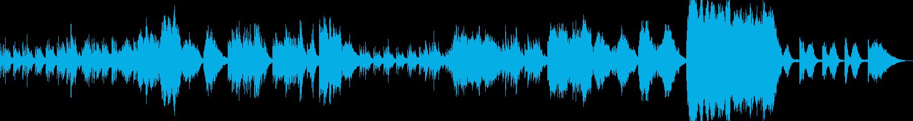 【感動】ピアノとストリングスの愛の曲の再生済みの波形