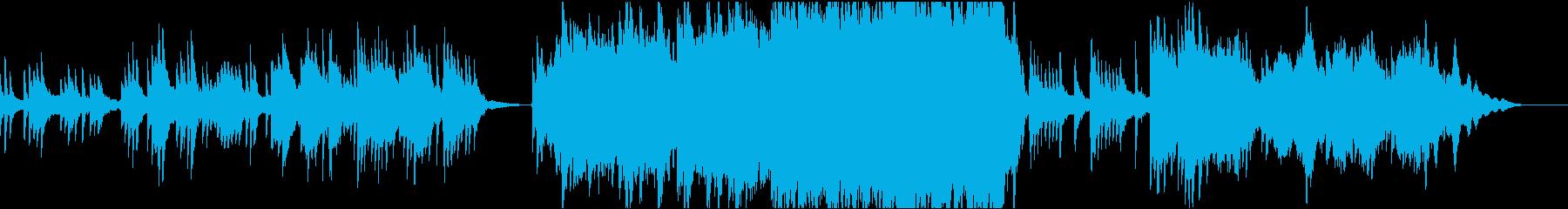 [劇伴] ピアノ曲 切ない別れのシーンにの再生済みの波形