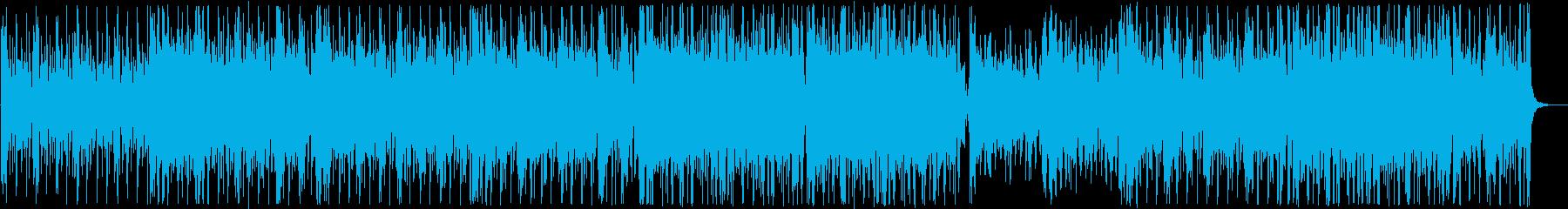アダルトなファンク女声コーラス:フル1回の再生済みの波形