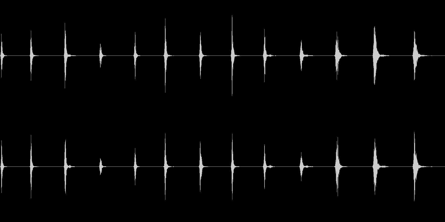 SWISH、WHIP、FX、13バ...の未再生の波形