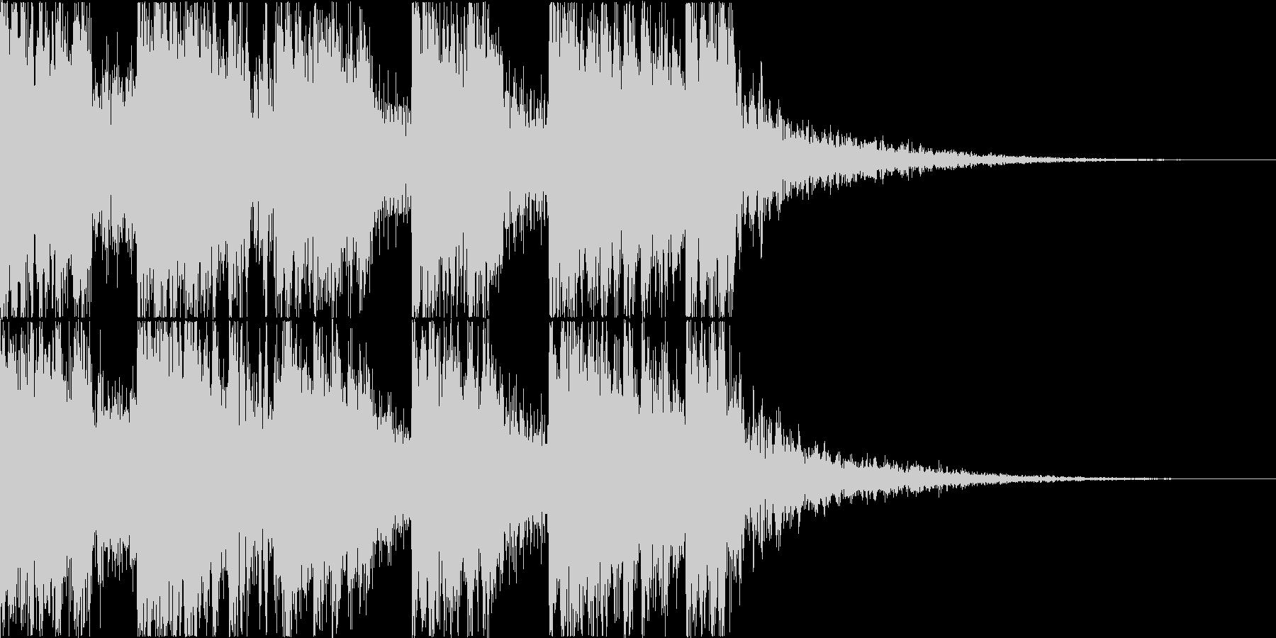 三味線・箏・尺八・和太鼓・ジングル05の未再生の波形