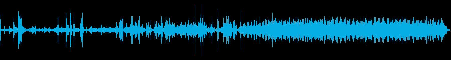 パワーコアハム古い障害のある大型フ...の再生済みの波形