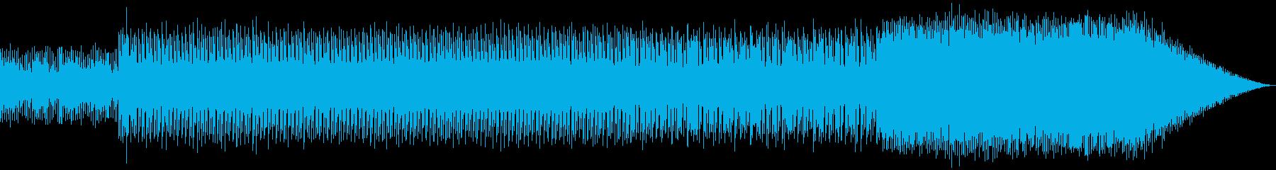 SF_シンセポップなBGMの再生済みの波形