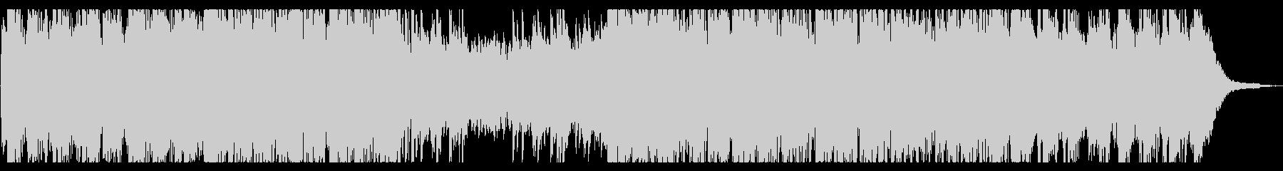 ピアノとチェロのアンビエントの未再生の波形
