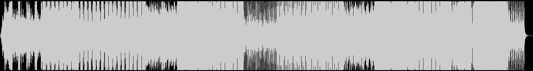 ほどよい壮大感のあるトロピカルハウスの未再生の波形