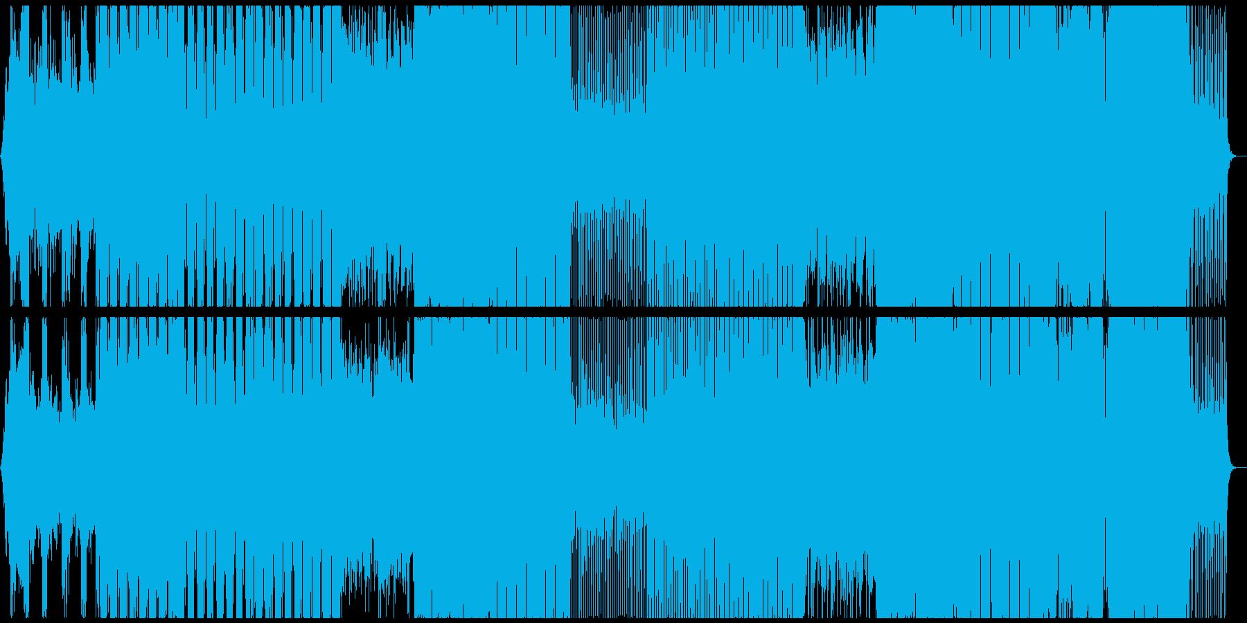 ほどよい壮大感のあるトロピカルハウスの再生済みの波形