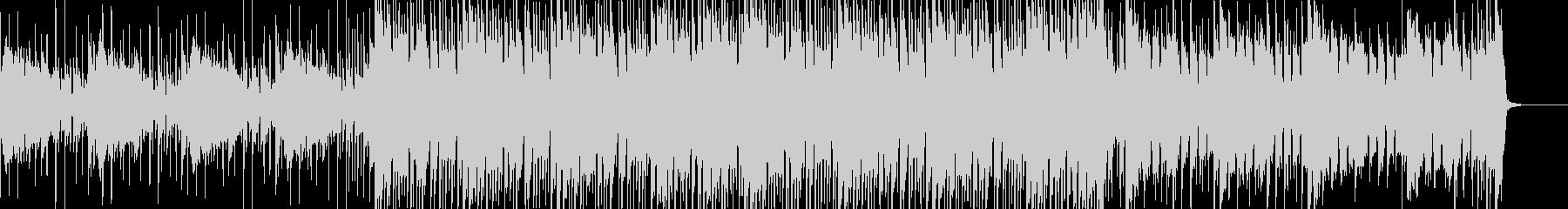 明るめなトロピカルハウスの未再生の波形