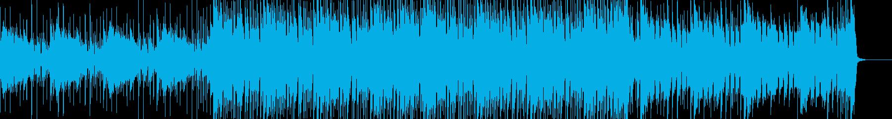 明るめなトロピカルハウスの再生済みの波形