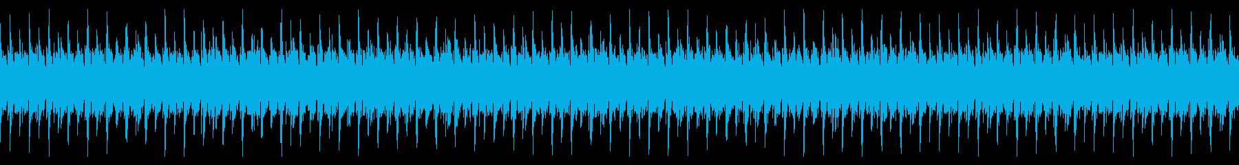 (loop)シンセが印象的なループBGMの再生済みの波形