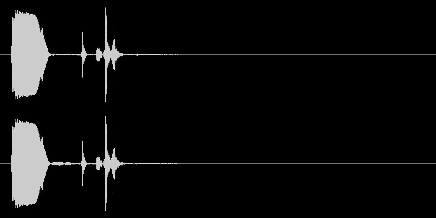 digital lock_2-3-2の未再生の波形