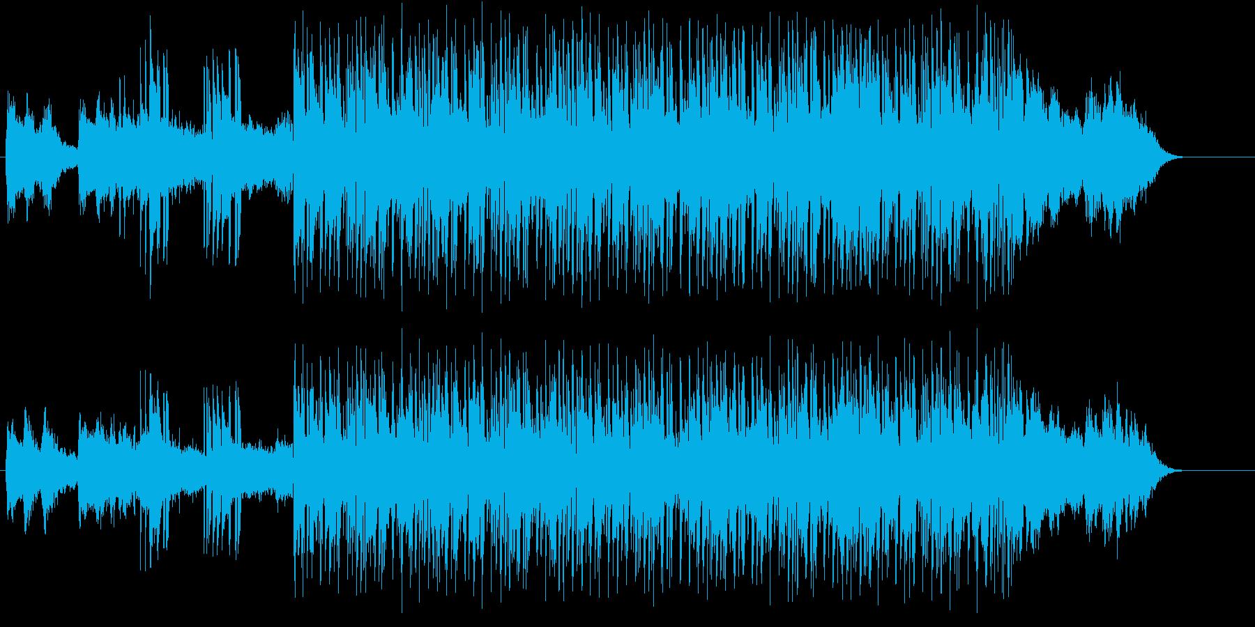 斬新でクールなアンビ風クラブ系マイナー調の再生済みの波形