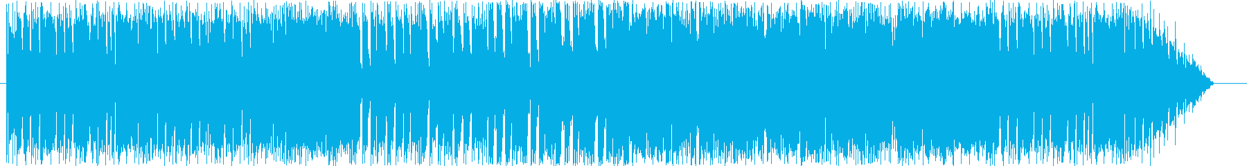 格闘ゲーム向けギターの激しい対戦BGMの再生済みの波形