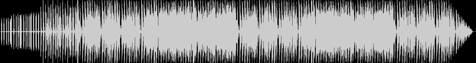 クールで軽快な短いループBGMの未再生の波形
