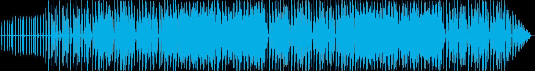 クールで軽快な短いループBGMの再生済みの波形