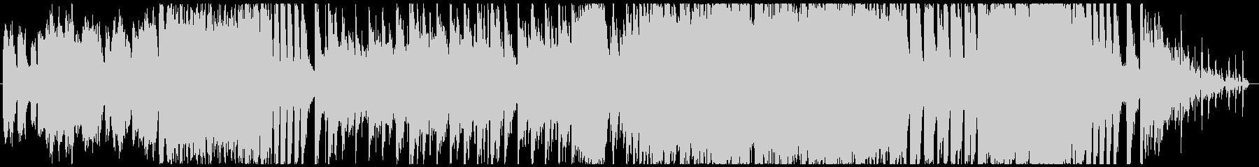 バッハの協奏曲×エレクトロの未再生の波形