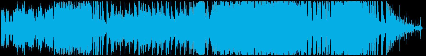 バッハの協奏曲×エレクトロの再生済みの波形