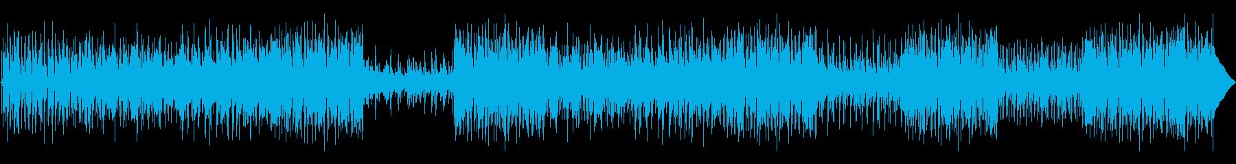 エレクトリックピアノ、ギター、ハン...の再生済みの波形