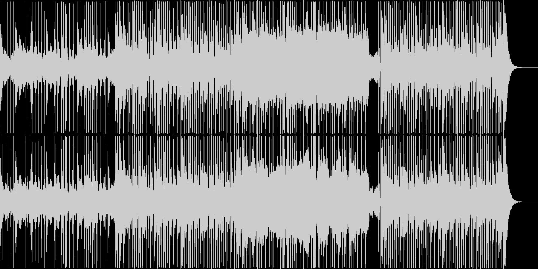 ダンジョンを勇敢に進むエレクトロの未再生の波形