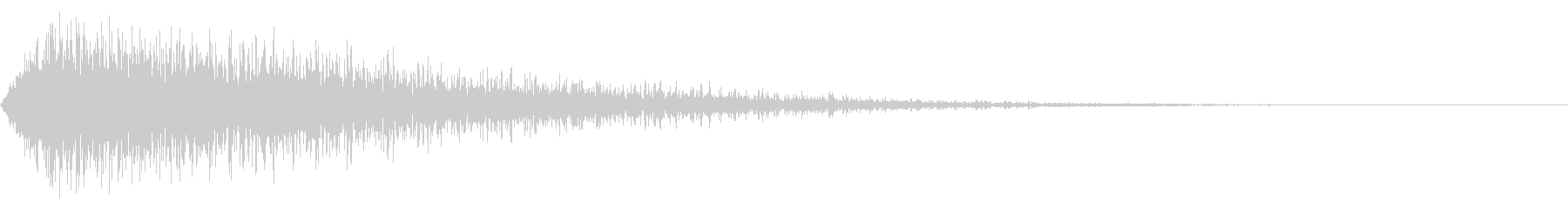 シュウウッ(文字などが出現する音などの未再生の波形