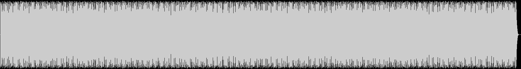 抑えめのフリースタイルビートの未再生の波形