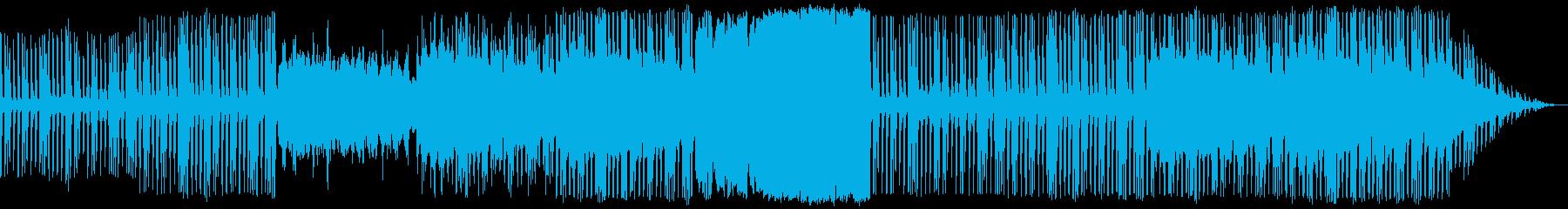 野心・陰謀的なイメージのストリングスの再生済みの波形