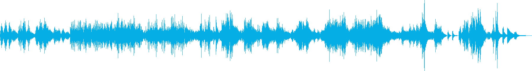 悲しみを乗り越えて(ピアノソロ・決意)の再生済みの波形
