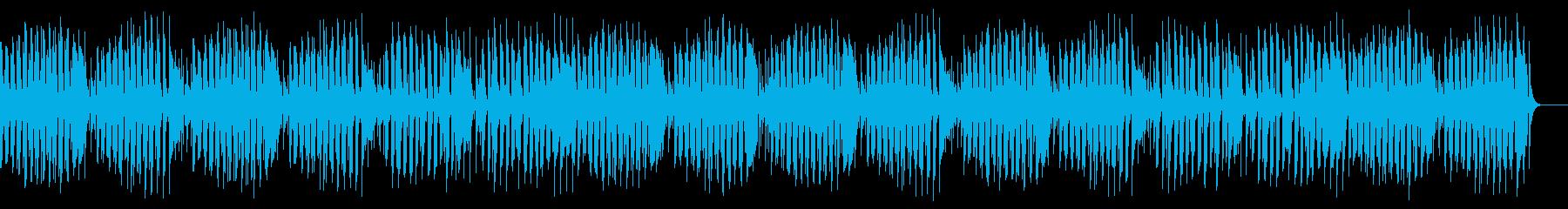 コミカルで可愛いユーモレスクの再生済みの波形