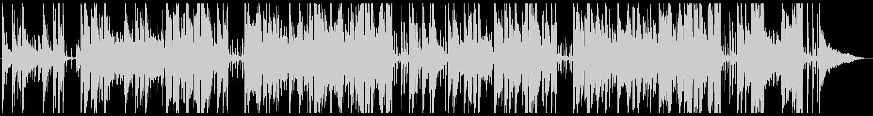 静かでおしゃれなトランペットのジャズの未再生の波形