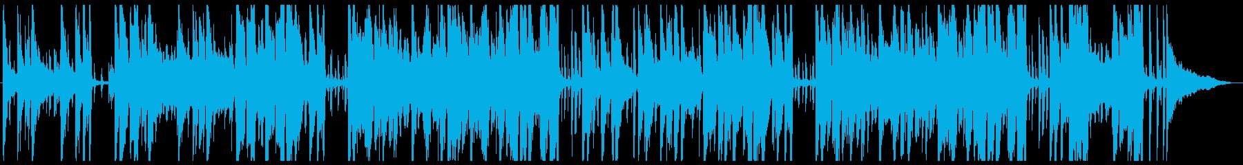 静かでおしゃれなトランペットのジャズの再生済みの波形