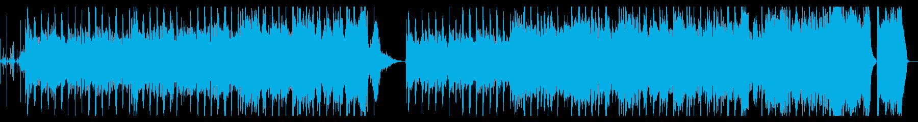 ほのぼのとした日常の音楽の再生済みの波形
