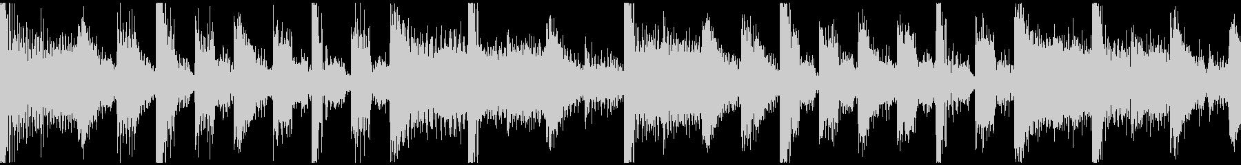 パズル待機画面BGM速度UP版 短ループの未再生の波形