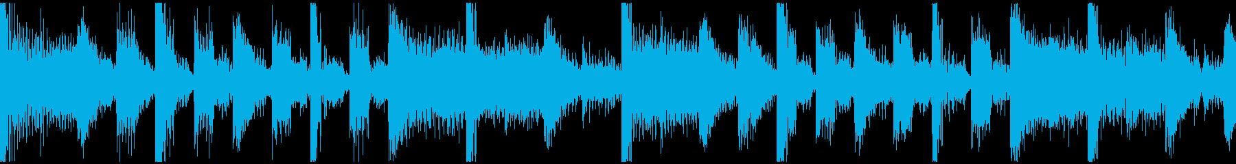 パズル待機画面BGM速度UP版 短ループの再生済みの波形