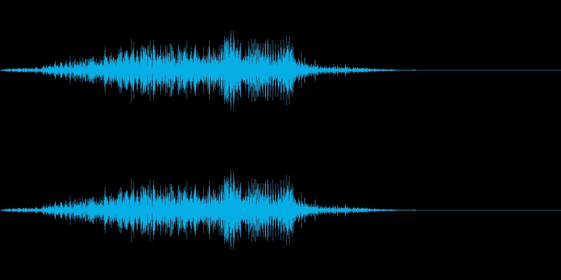 しゃっ!(攻撃が決まった時など)の再生済みの波形