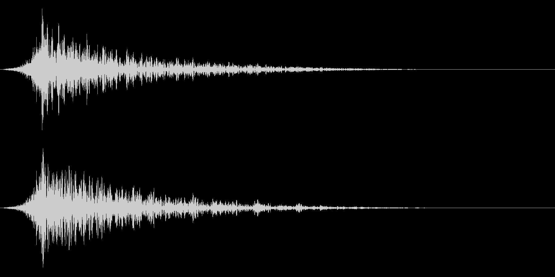 シュードーン-29-1(インパクト音)の未再生の波形